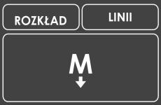 Rozkłąd Linii M