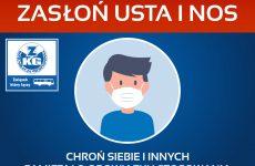 Więcej o: UWAGA!!! ZASŁOŃ USTA I NOS